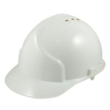 9999PE安全帽,有孔,白