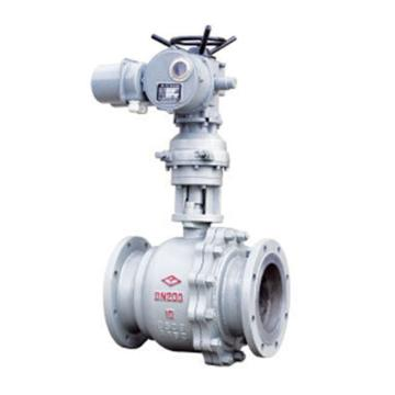 遠大閥門 電動碳鋼法蘭球閥 Q941F-16C,DN40 普通開關型電裝,下單請提供電壓