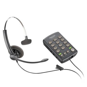 繽特力 話盒+耳機,T110電話耳麥 SP11話務員