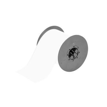 """贝迪BRADY BBP31/33/35/37连续胶带,B595,户内/外乙烯,4""""×100',白色,B30C-4000-595-WT"""