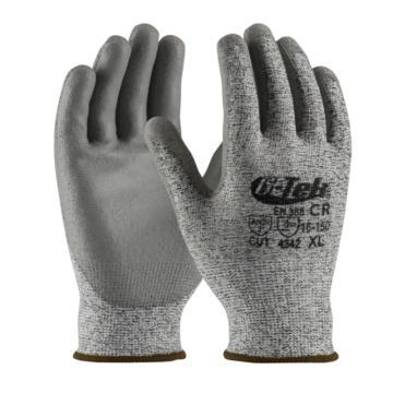 PIP 3级防割手套,16-150-M,PolyKor™ 切割3级PU手套