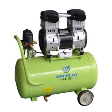 大排量静音空压机,排气量:280L/min,打气快速 力量强劲