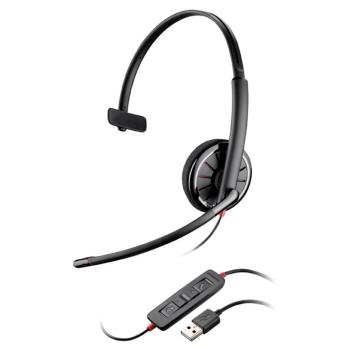 缤特力(Plantronics)C310客服呼叫中心 专业话务员耳机 可调音静音