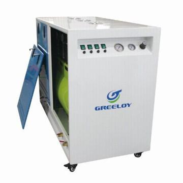 实验室超静音无油空压机,排气量:470L/min,GA-64X