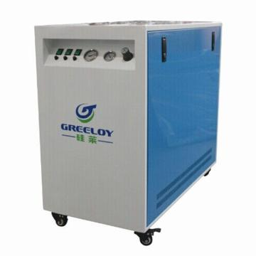 硅莱 超静音无油空压机,排气量:465L/min,超静音 室内用,GA-83X