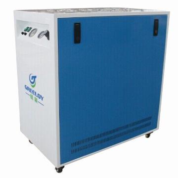 硅莱 静音干燥无油空压机,排气量:310L/min,无音 无油 无水,GA-82XY