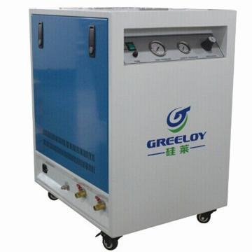 硅莱 静音无油无水空压机,排气量:155L/min,GA-81XY