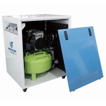 硅莱 超静音干燥无油空压机,排气量:118L/min,GA-61XY