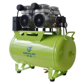 硅莱 静音无油空压机,排气量:236L/min,功率:1200W,GA-62