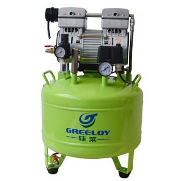 硅莱 静音无油空压机,排气量:155L/min,功率:800W,GA-81