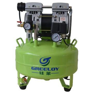 硅莱 静音无油空压机,排气量:118L/min,功率:600W,GA-61