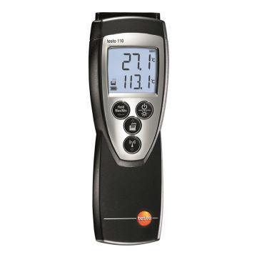 德图/Testo 温度仪,单通道NTC,探头需另配,testo 110,订货号:0560 1108