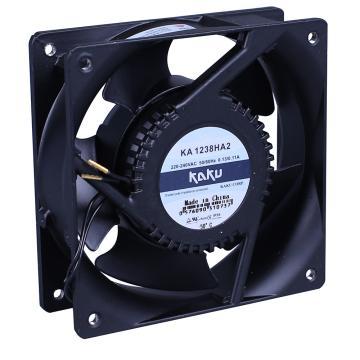 卡固 交流轴流风扇 KA1238HA2(导线式),滚珠型,220-240VAC,50/60HZ,0.13/0.11A