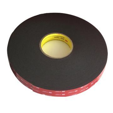 3M VHB胶带,  黑色 宽度20mm 长度33m