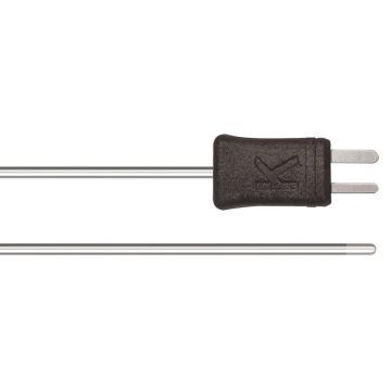 德图/Testo 温度探头, 浸入式尖端 柔性K型热电偶,-200~+1300℃,订货号:0602 5693