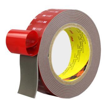 3M VHB胶带,灰色宽度9mm,长度16.5m,型号:4991-9mm