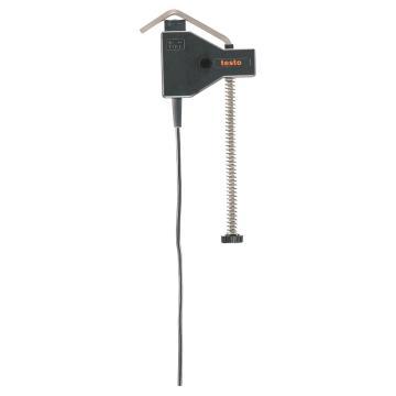 德图/Testo 温度探头, 管道夹探头,K型热电偶 -60~+130℃,订货号:0602 4592