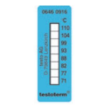 德图/Testo 温度贴,+71~+110℃