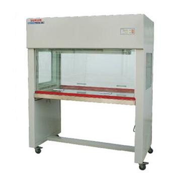 超净工作台,垂直流双面,SKJH-1214,洁净度 :工作区内≥0.5um颗粒的尘埃≤3.5颗/升(FS209E100级),外型尺寸:1560x715x1620mm