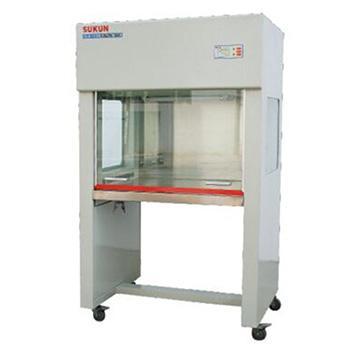 超净工作台,垂直流双面,SKJH-1109,洁净度 :工作区内≥0.5um颗粒的尘埃≤3.5颗/升(FS209E100级),外型尺寸:1160x715x1620mm