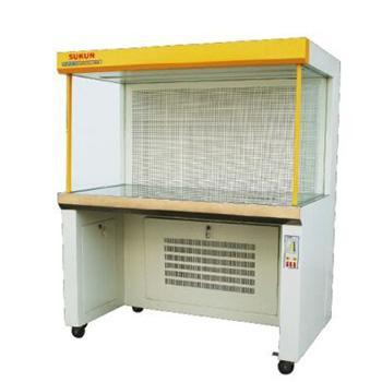 超净工作台,水平流单面,SKJH-2112,洁净度 :工作区内≥0.5um颗粒的尘埃≤3.5颗/升(FS209E100级),外型尺寸:1280x720x1440mm
