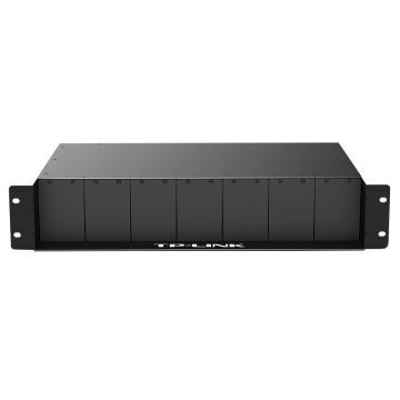 普联(TP-LINK)TL-FC1400 14槽光纤收发器专用机架,单位:个