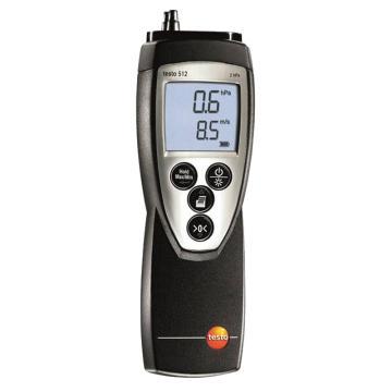 德圖/Testo 512差壓測量儀, 0-200hPa 訂貨號0560 5128