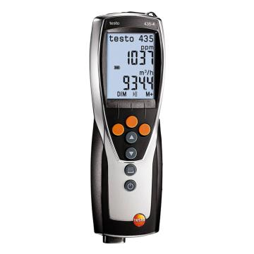 德图/Testo 多功能室内空气质量检测仪 检测空调及通风系统及室内空气品质,testo 435-4,0563 4354