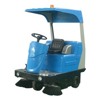 洁德美电动驾驶式扫地机,JHS-1360(带棚顶)