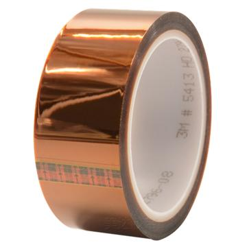 3M单面聚酰亚胺胶带, 琥珀色 宽度12mm