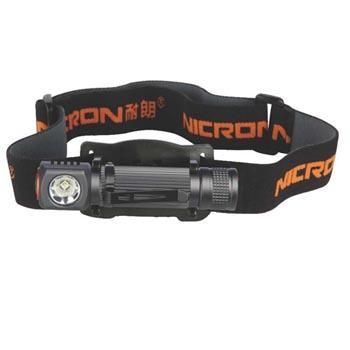 耐朗 H10 R 充电式迷你铝合金头灯 1W  14500锂电(含头灯+14500电池+USB充电线)