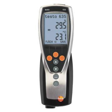 德图/Testo 温湿度仪,探头另配,testo 635-1,订货号:0560 6351