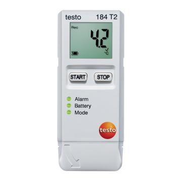 德图/Testo testo 184 T2温度记录仪,USB型温度记录仪,一次性使用:150天寿命
