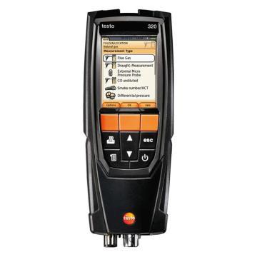 德图/Testo 烟气分析仪套装,烟气分析仪套装 CO带H2补偿,testo 320,订货号:0563 3220 75