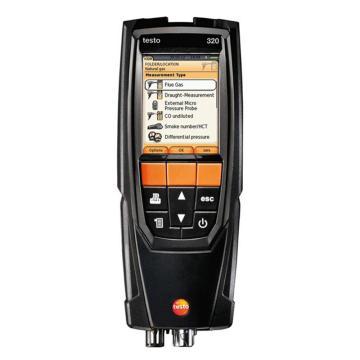德图/Testo 烟气分析仪, 含O2、CO传感器 无H2补偿,testo 320,订货号:0563 3220 70