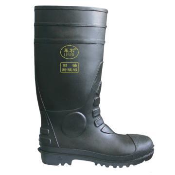 莱尔耐酸碱防护靴,PVC-R002-41码,黑色