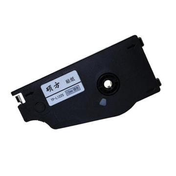 硕方 线号机贴纸,TP80/TP86/TP70/TP76标签纸 打号机标签贴纸 12mm银色TP-L122S 单位:个