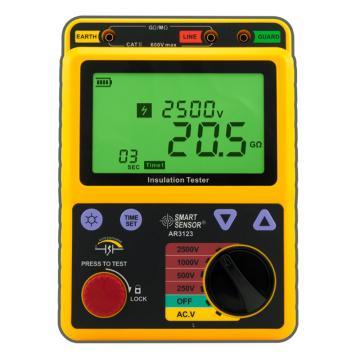 希玛/SMART SENSOR 高压绝缘电阻表,AR3123,0.0-99.9GΩ