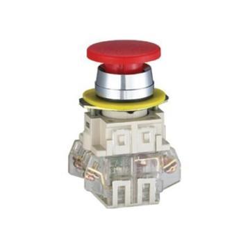 正泰 蘑菇头按钮,LAY3-11M/1 红 φ35