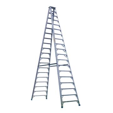 固字牌 加固型人字铝梯,高度(m):5,承重:150kg