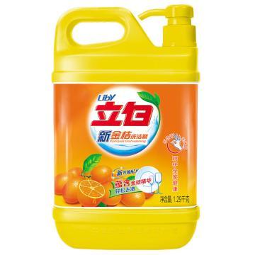 洗涤用品 立白洗洁精,1.29kg 单位:桶