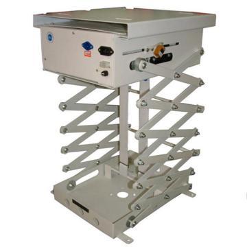 富达投影仪支架 1.5米 交剪式电动吊架