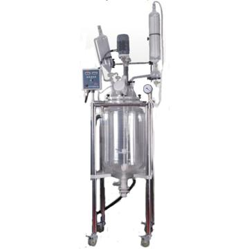 予華 三層玻璃反應釜,托盤型,轉速:0-650rpm,YSFTS-100L