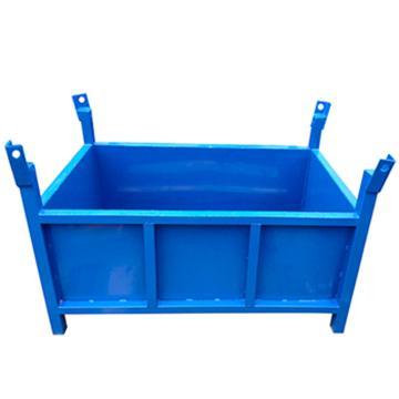 博储 钢板箱,L800*W600*H600mm,1500KG,蓝色,BC-SAA01