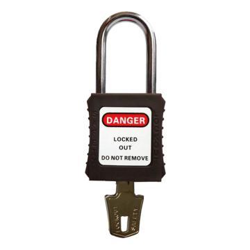 安全挂锁,通开型,褐