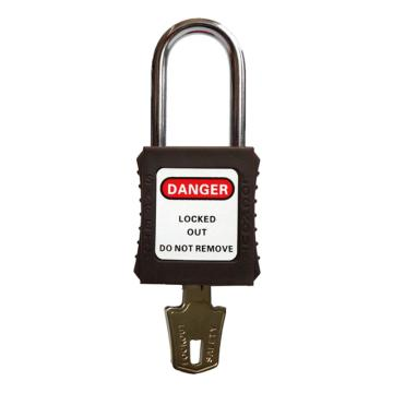安全挂锁,不通开二级管理型,褐