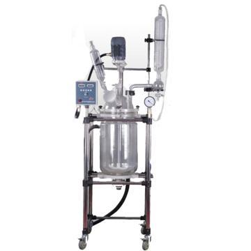 予华 三层玻璃反应釜,标准型,转速:0-650rpm,YSFS-30L