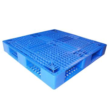 STORAGEMAID 蓝色塑料托盘,田字 尺寸(mm):1100*1100*150 动载1T 静载4T