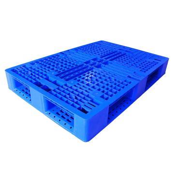 STORAGEMAID 蓝色塑料托盘,田字 尺寸(mm):1200*800*150 动载1T 静载4T