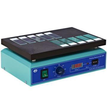 恒温加热平台(定时、数字,室温-70℃(特氟龙加热板),其林贝尔,QB-2000